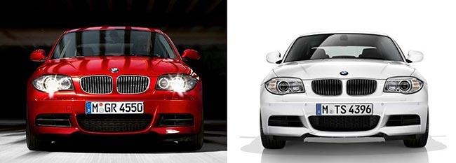 Сравнение-BMW-E82-до-и-после-рестайлинга