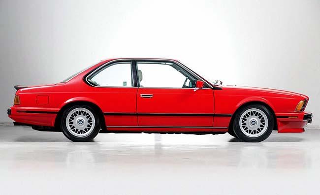 Первый M6 в кузове BMW E24