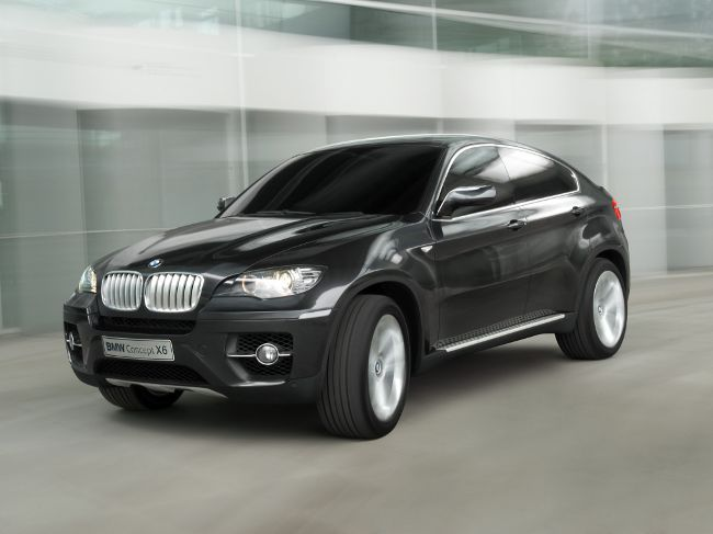 BMW Concept X6 - начало истории Х6