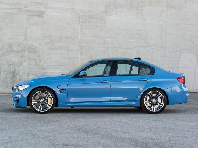 BMW F80 - роскошный седан серии M3