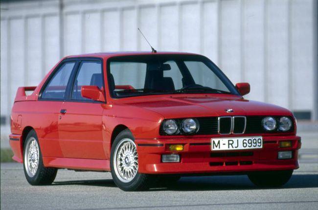 BMW M3 E30 в кузове купе