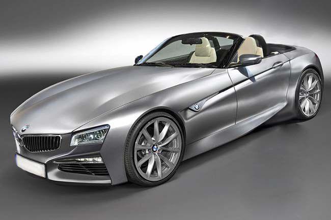 BMW Z5 - таким новый родстер видят в AutoBild