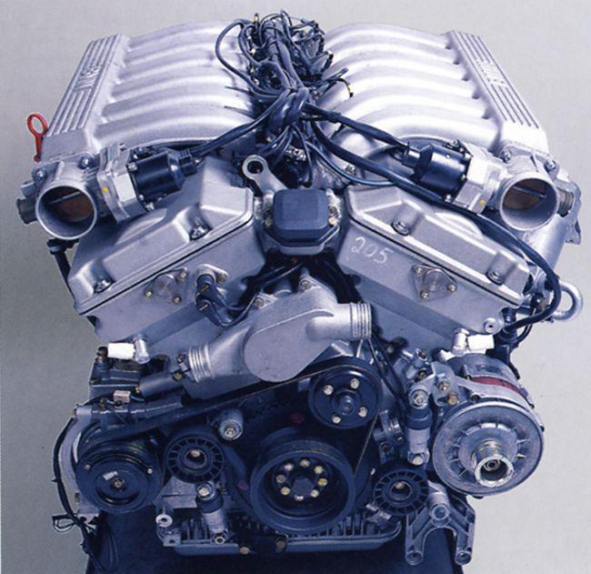Двигатель BMW M72