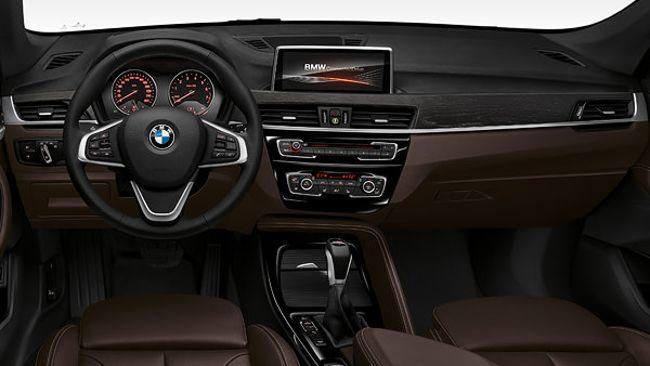 Салон BMW X1 F48 с пакетом XLine