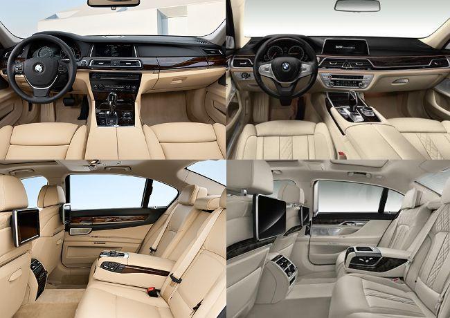 Сравнение салонов BMW Fx и G1x