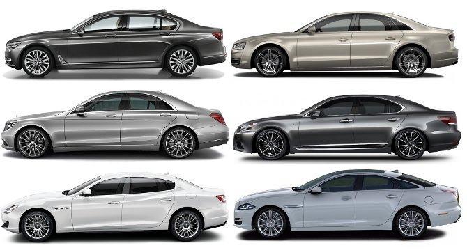 BMW G12 7 Series vs