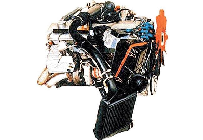 Фото двигателя BMW M102