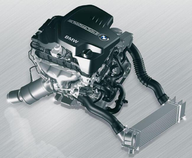 Фото двигателя BMW N26