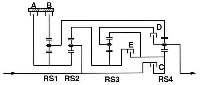 Схемы передачи 8HP50