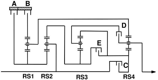 Схемы передачи ZF 8HP90