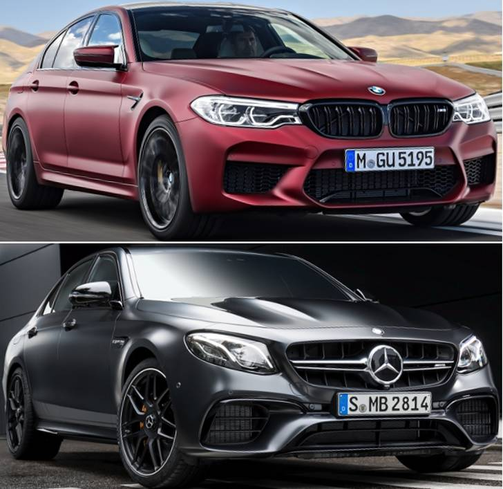 BMW M5 First Edition vs Mercedes AMG E 63 S