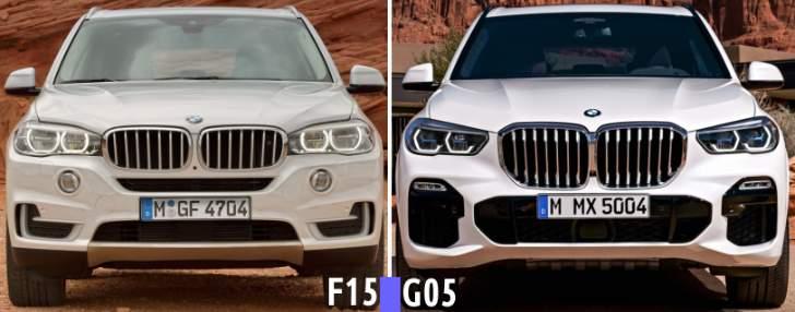 Design BMW X5 G05 front - 2019