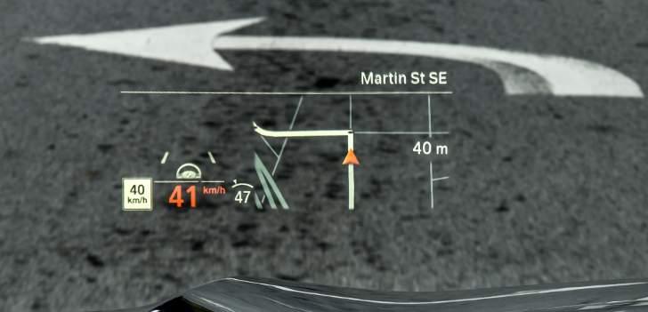 Head-Up Display BMW X5 G05 - обзор