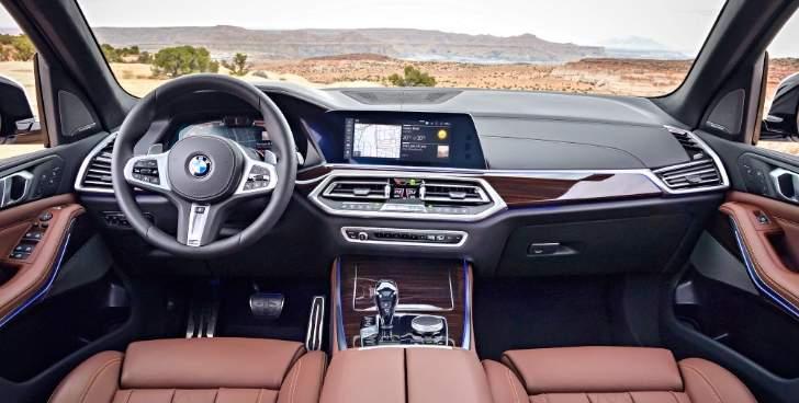 Салон BMW X5 G05 2018 - 2019