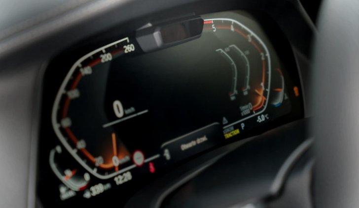 Инфракрасный датчик на панели приборов БМВ Х5 Джи 05