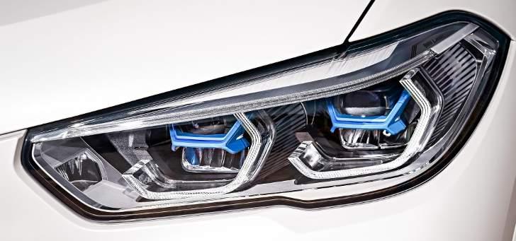Оптика BMW X5 G05 - обзор