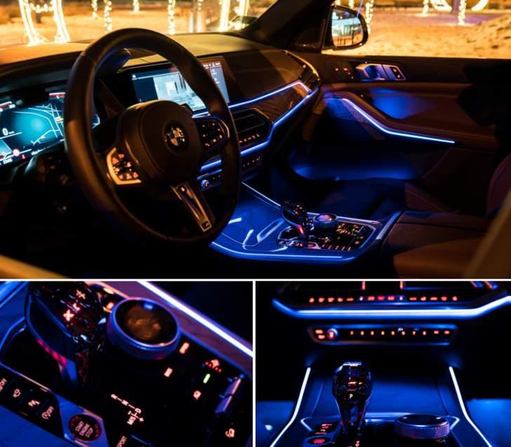 Подсветка салона BMW X5 G05