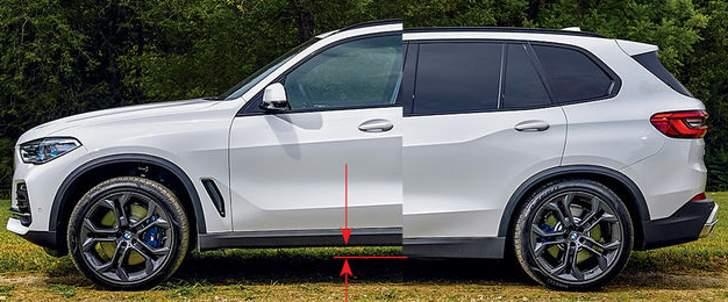 пневмоподвеска BMW X5 G05 - обзор