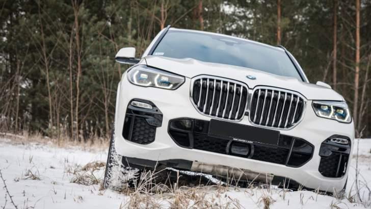 Внедорожные возможности BMW X5 G05