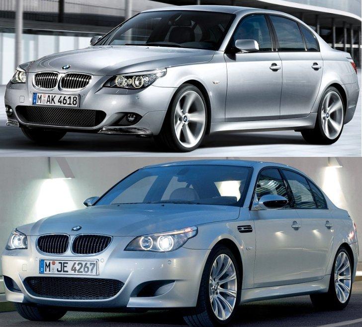 BMW E50 M Sport vs M5