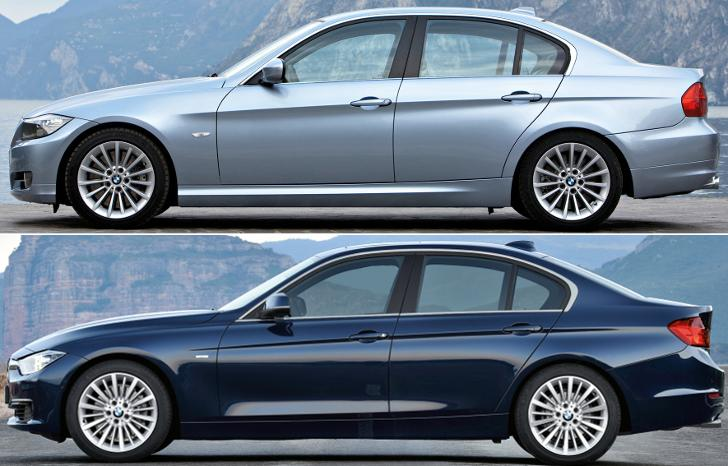 BMW E90 vs BMW F30 - review