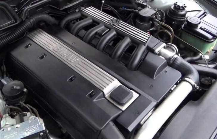 Двигатель BMW 725 tds E38 - M51 2.5