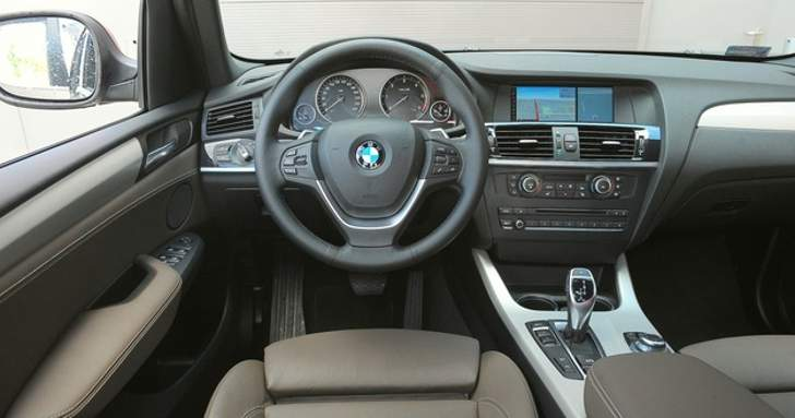 Б\у салон BMW X3 F25